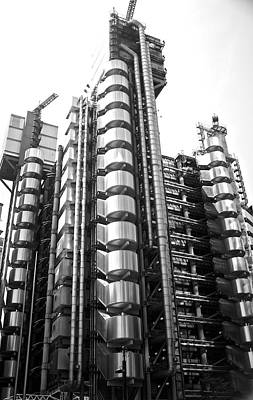 Lloyd's Of London Steel Building Original by Venetia Featherstone-Witty