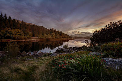 Photograph - Llynnau Sunset by Beverly Cash