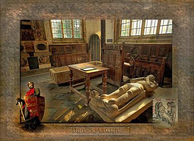 Llanrwst Digital Art - Llywelyn The Great -  Prince Of Wales by Mal Bray