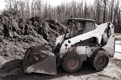 Bobcat Photograph - Loader  by Olivier Le Queinec