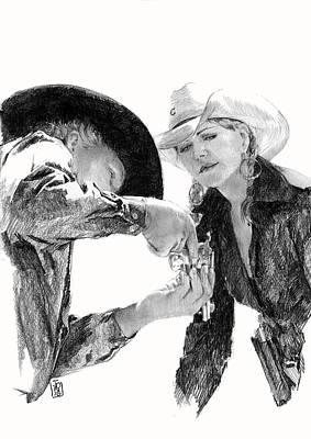 Debra Jones Drawing - Loading by Debra Jones