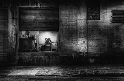 Concrete Photograph - Loading Dock by Scott Norris
