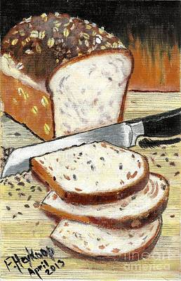 Painting - Loaf Of Bread by Francine Heykoop