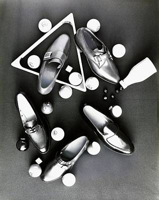Billiards Photograph - Loafers With Pool Equipment by Leonard Nones