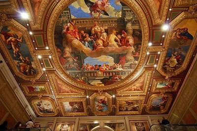 Photograph - Lobby Ceiling Of The Venetian Hotel by Willie Harper