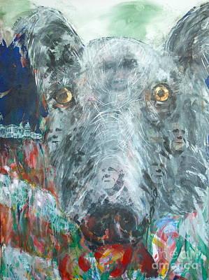 Us Capital Painting - Lobby Dogs by Thomas Dudas