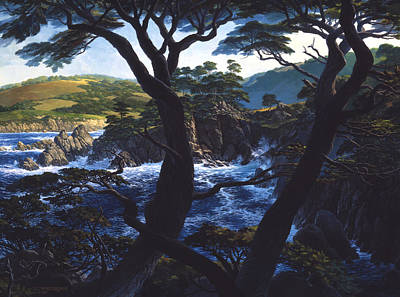 Lobos Symphony Art Print by Tom Wooldridge