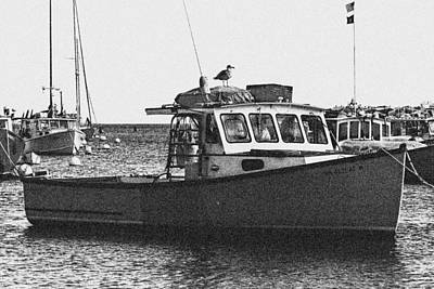 Photograph - Lobster Boat by Fred Larson
