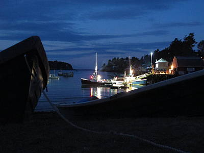 04003 Photograph - Lobster Boat Mackerel Cove by Donnie Freeman