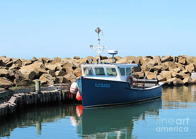 Professional Photograph - Lobster Boat - Nova Scotia by Cheryl Aguiar