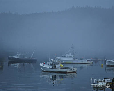 Photograph - Lobster Boats At Rest by Alana Ranney