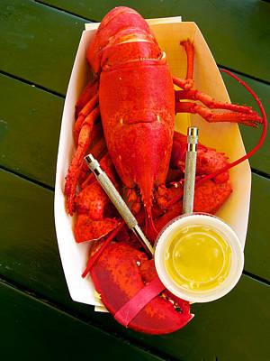 Mannequin Dresses - Lobster dinner by David Kay
