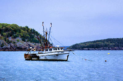 Photograph - Trawling In Bar Harbor by Kristin Elmquist