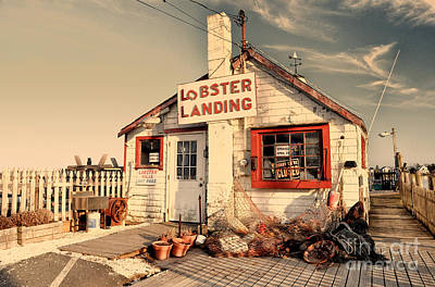 Lobster Landing Clinton Connecticut Art Print