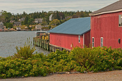 Photograph - Lobster Pier by Paul Mangold
