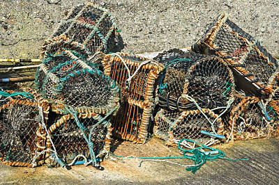 Photograph - Lobster Pots by Jane McIlroy
