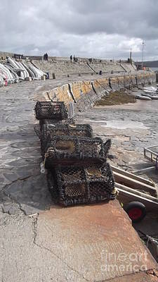 Photograph - Lobster Pots by John Williams