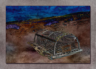 Photograph - Lobster Trap 2 by WB Johnston
