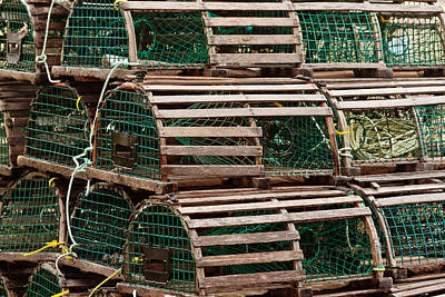 Photograph - Lobster Traps by Ben Graham