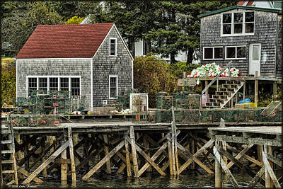 Photograph - Lobster Traps by Erika Fawcett