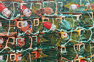 Photograph - Lobster Traps Ns by Ben Graham