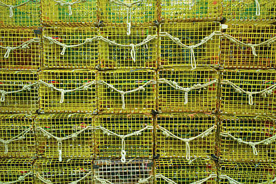 Lobster Traps, Rockport, Essex County Art Print
