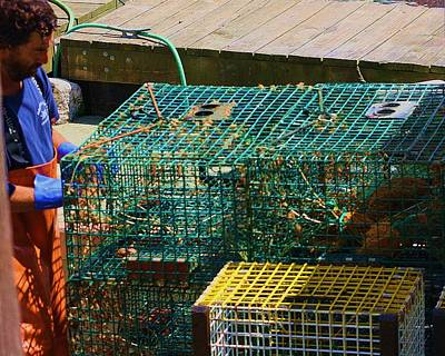 Lady Bug - Lobsterman by Chuck Hicks