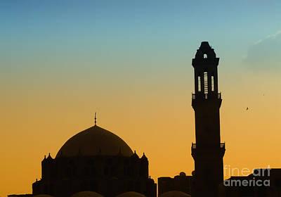 Stone Masons Photograph - Local Cairo Mosque 03 by Antony McAulay