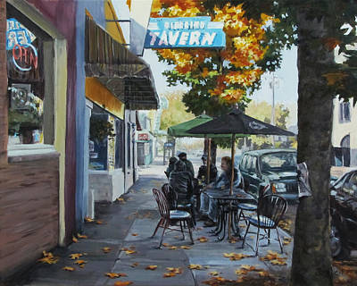 Painting - Local Color by Karen Ilari