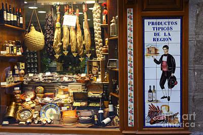 Local Produce Toledo Spain Art Print by James Brunker