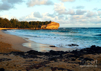 Local Surf Spot Kauai Art Print