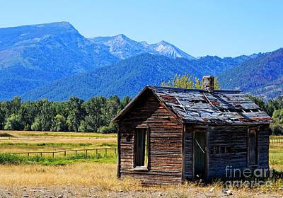 Art Print featuring the photograph Location Location Location Montana by Joseph J Stevens