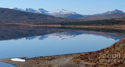 Loch A' Croisg - Scotland Art Print by Phil Banks