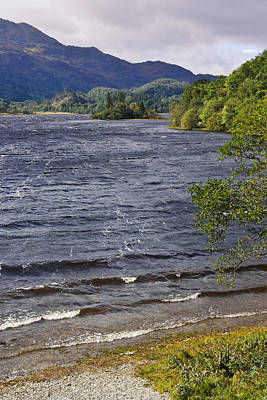 Photograph - Loch Achray - The Trossachs - Scotland by Jane McIlroy