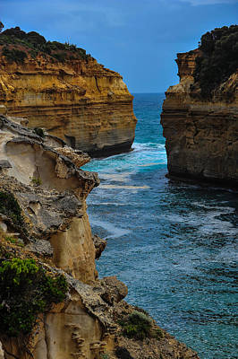 Photograph - Loch Ard Gorge by Harry Spitz