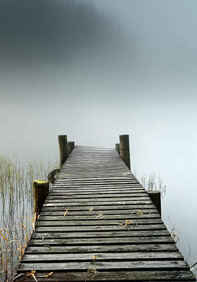 Photograph - Loch Ard Jetty by Grant Glendinning