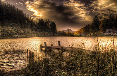 Photograph - Loch Ard Jetty by Fiona Messenger