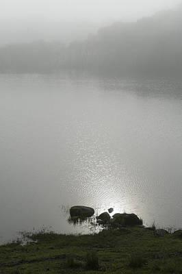 Loch Awe Misty Morning  Art Print