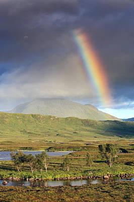 Photograph - Loch Ba Rainbow by Grant Glendinning