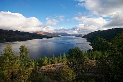 Art Print featuring the photograph Loch Carron by Stephen Taylor
