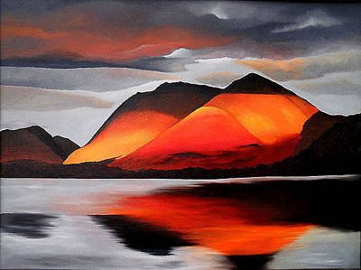 Painting - Loch Creran by Aileen Carruthers
