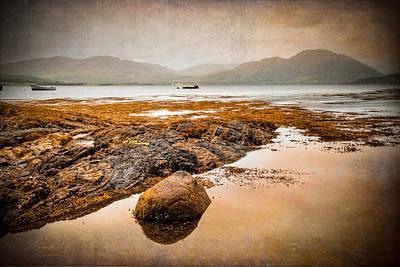 Loch Creran Coastline Art Print