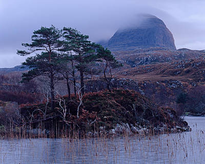 Photograph - Loch Druim Suardalain by Tom Daniel