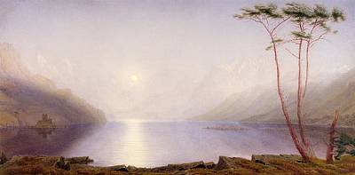 Loch Duich, Summer Moonlight Art Print by William Turner