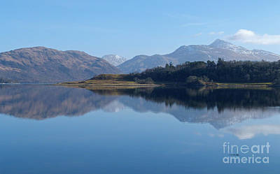 Photograph - Loch Etive - Scotland by Phil Banks