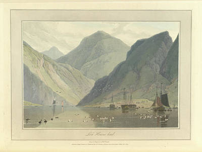 Loch Hourne Art Print by British Library