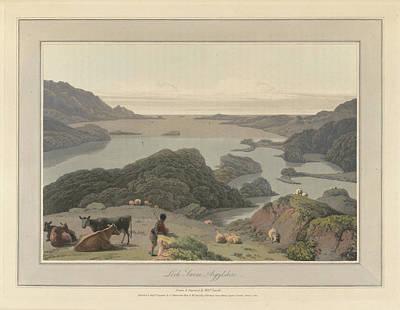 Loch Inrene In Argyllshire Art Print by British Library