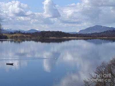 Photograph - Loch Insh - Spring Reflections by Phil Banks