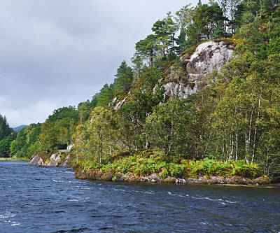 Photograph - Loch Katrine - Trossachs - Scotland by Jane McIlroy