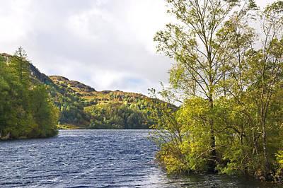 Photograph - Loch Katrine In The Trossachs - Scotland by Jane McIlroy